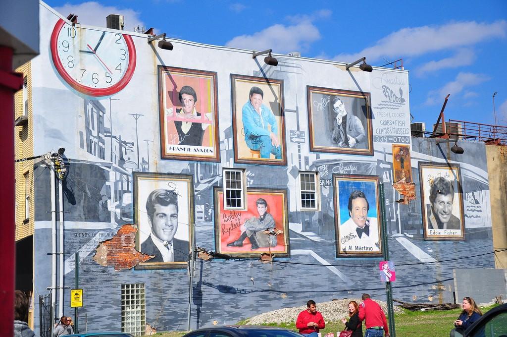 Italian-American mural| © kimberlykv / Flickr