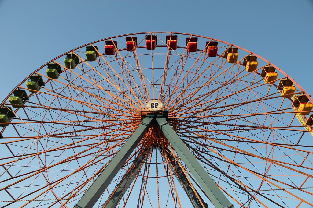 Cedar Point Amusement Park, Sandusky | © Daniel X. O'Neil / Flickr