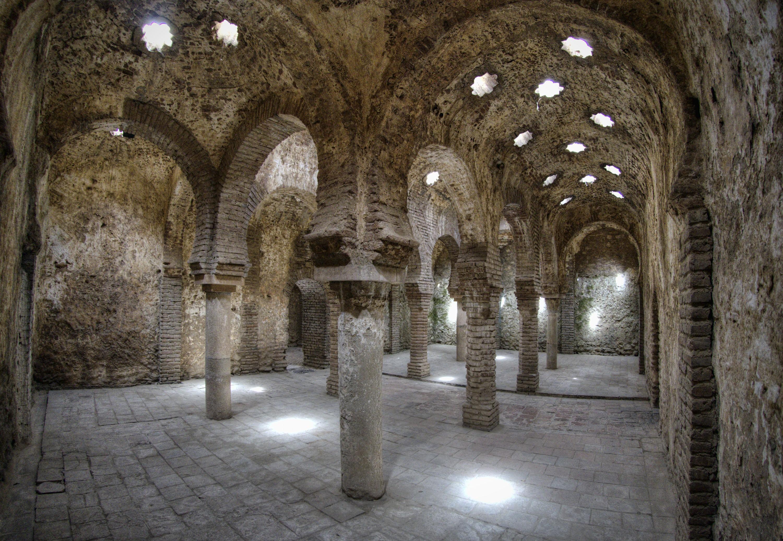 The remains of Ronda's Arabic Baths   © Ángel M. Felicísimo/WikiCommons
