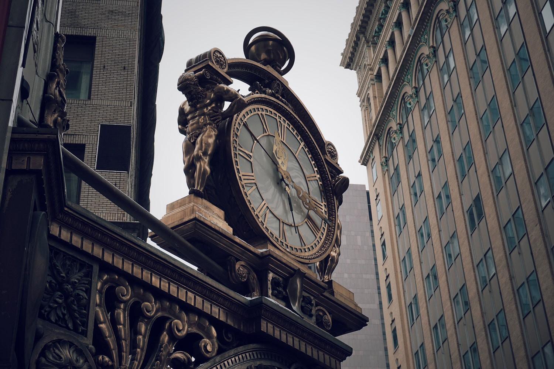 Kaufmann's clock | Photo by David Kindervater