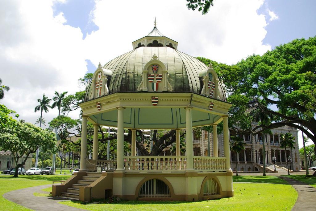 Coronation pagoda 'Iolani Palace