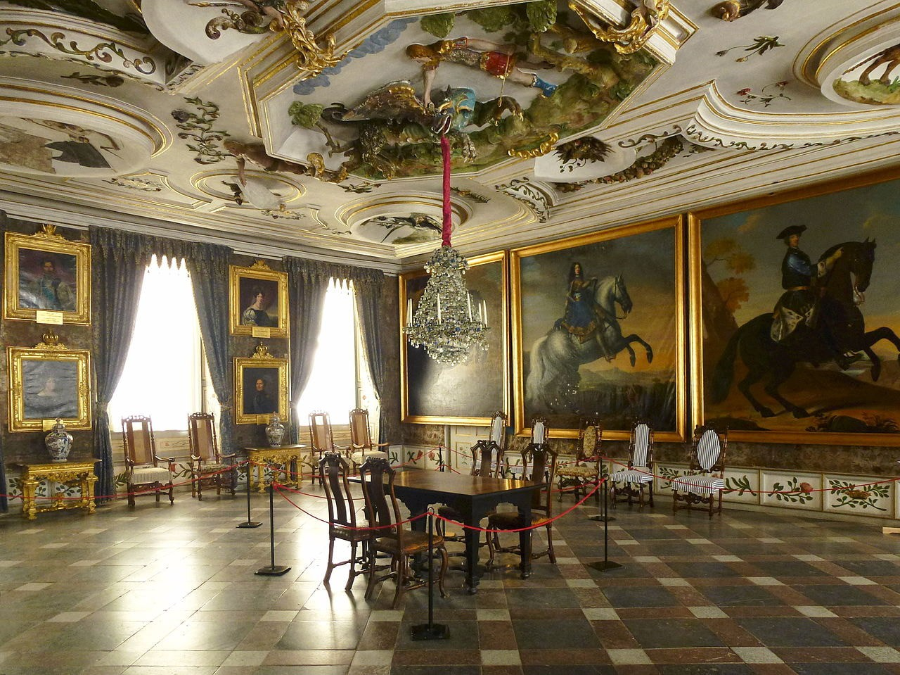One of the many stunning rooms in Skokloster Castle   © Holger.Ellgaard / WikiCommons