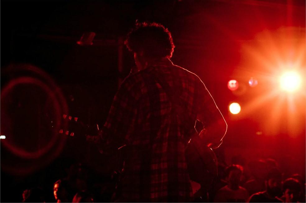A live music event underway in Chennai