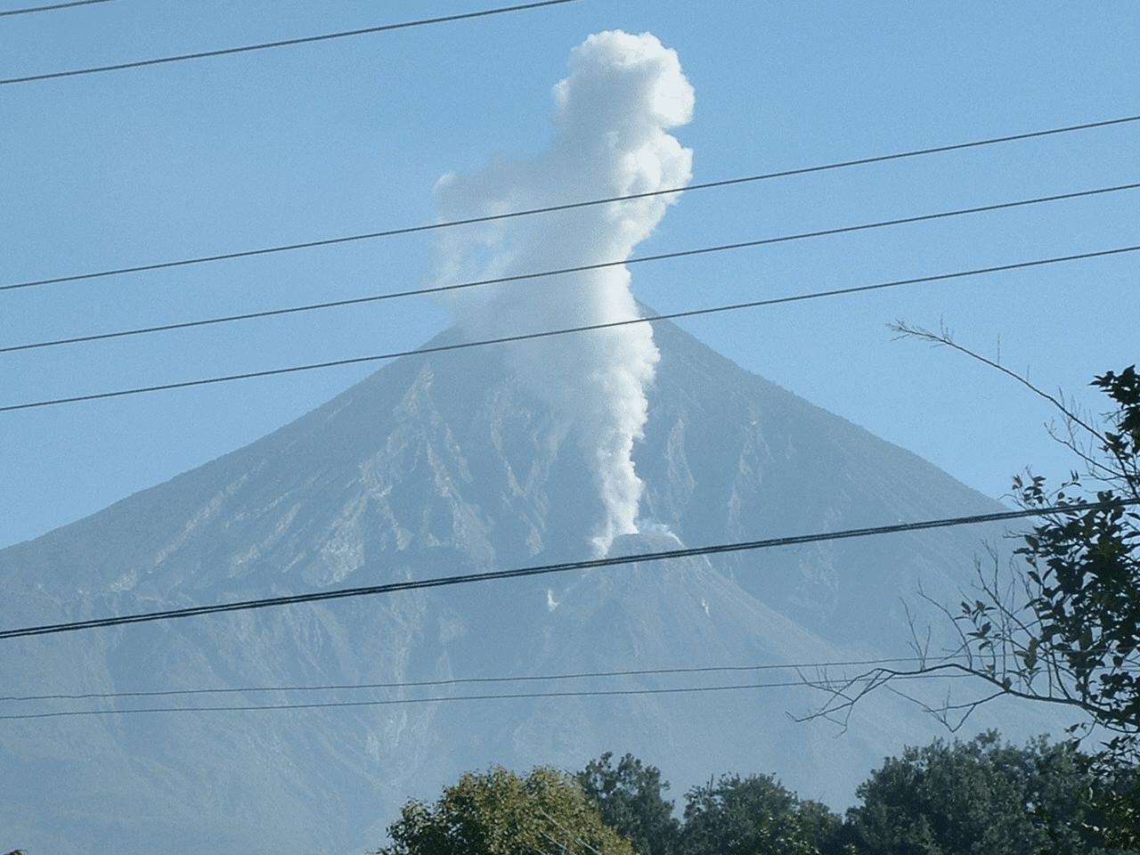 Santiaguito outside Xela