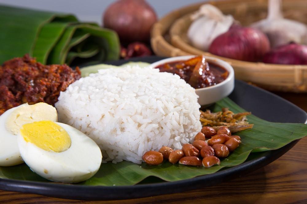 Malaysia's popular dish, Nasi lemak