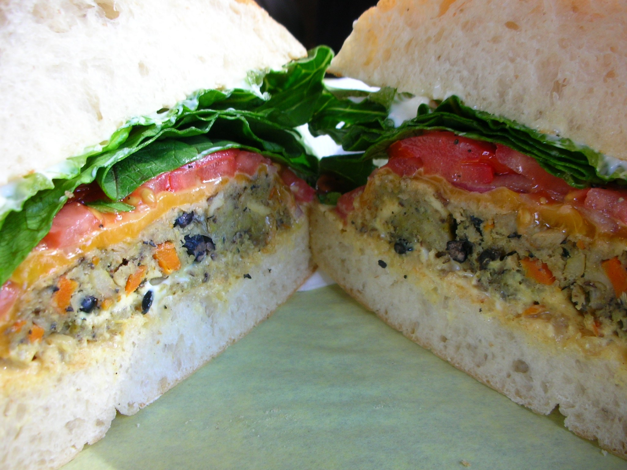 Ponsonby is home to some of Auckland's best veggie burgers