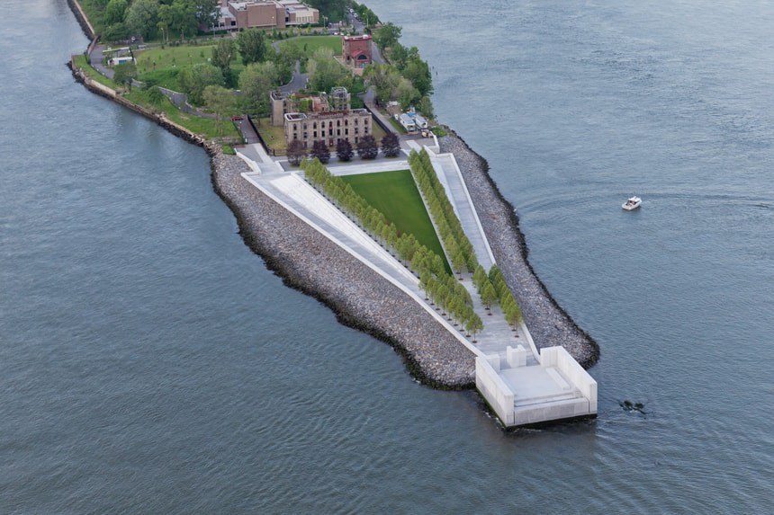 © Iwan Baan / Courtesy of Franklin D. Roosevelt Four Freedoms Park