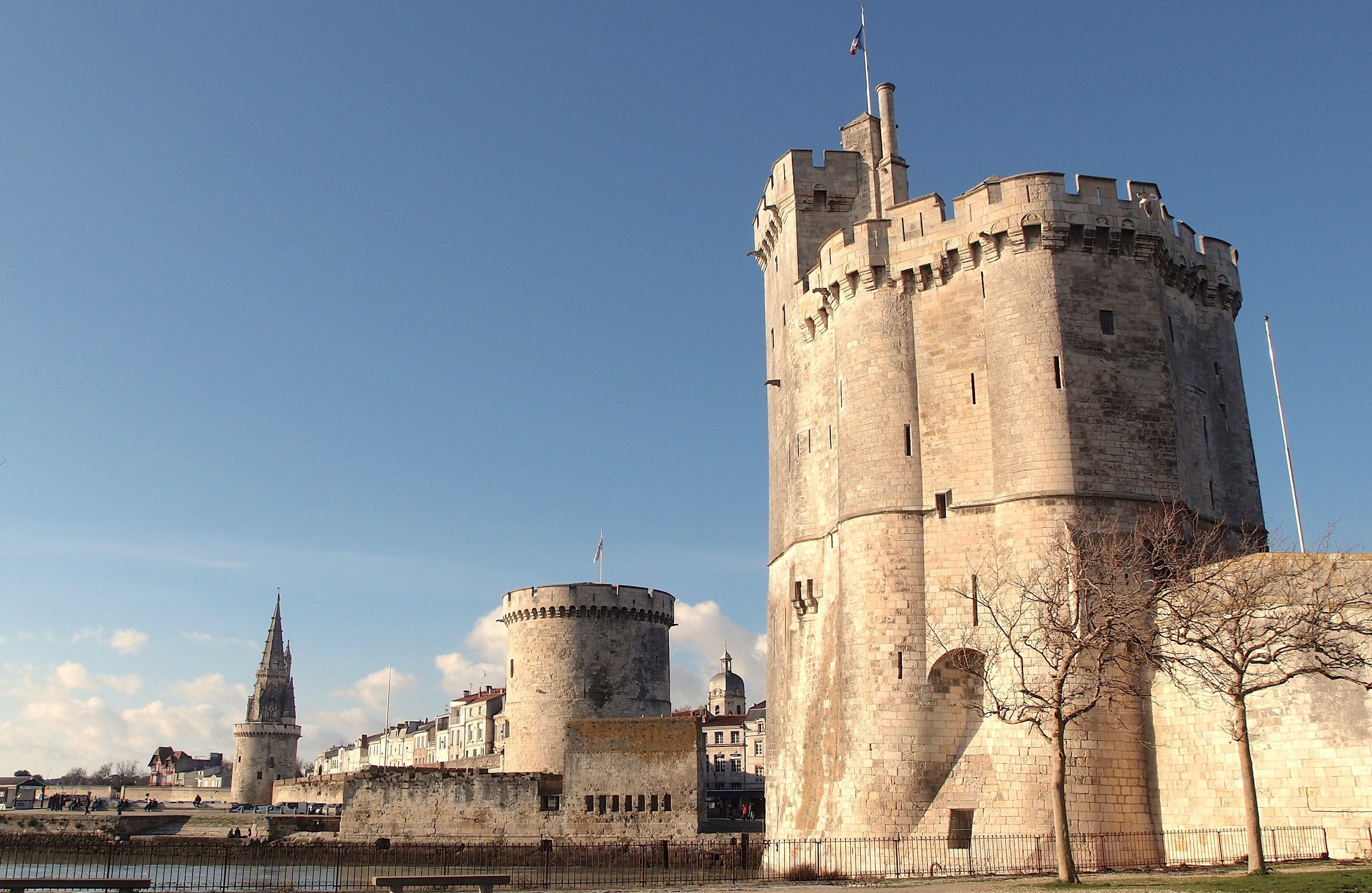 The maritime city of La Rochelle