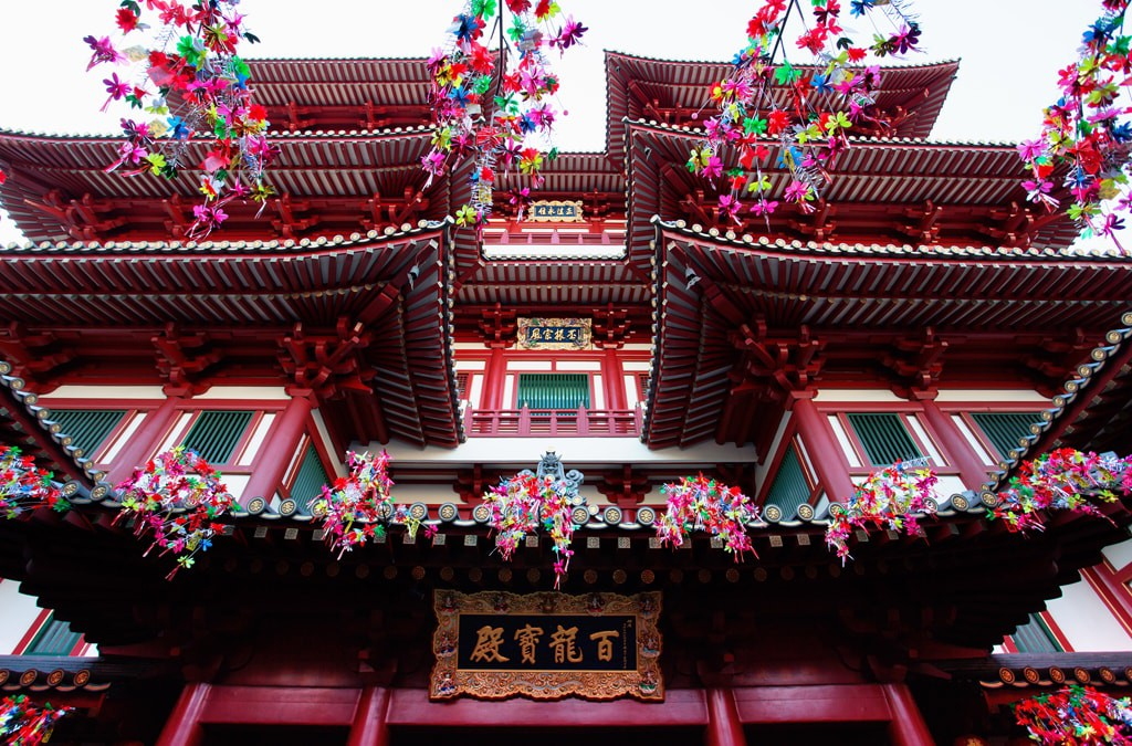 The Buddha Tooth Relic Temple was built in 2007