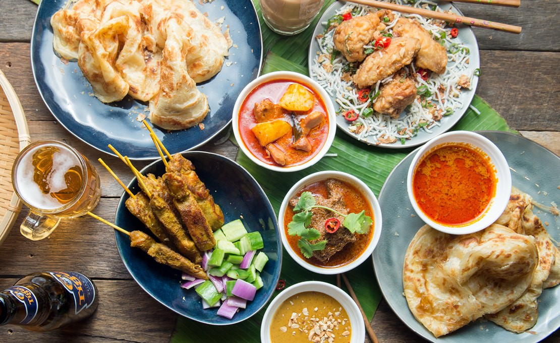 Food at Ipoh Club in the Chatswood RSL