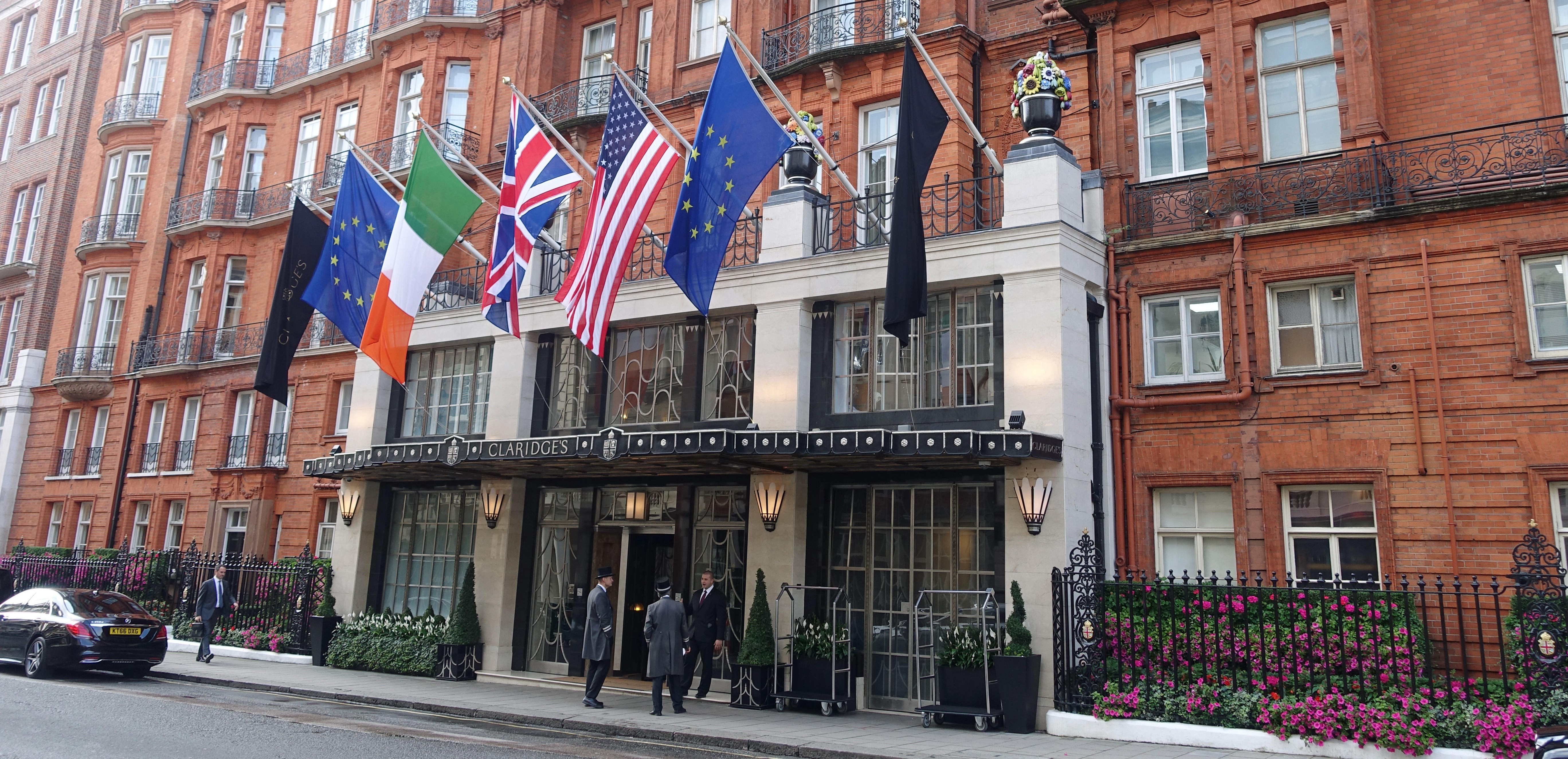 Claridge's Hotel is one of London's swankiest places to stay