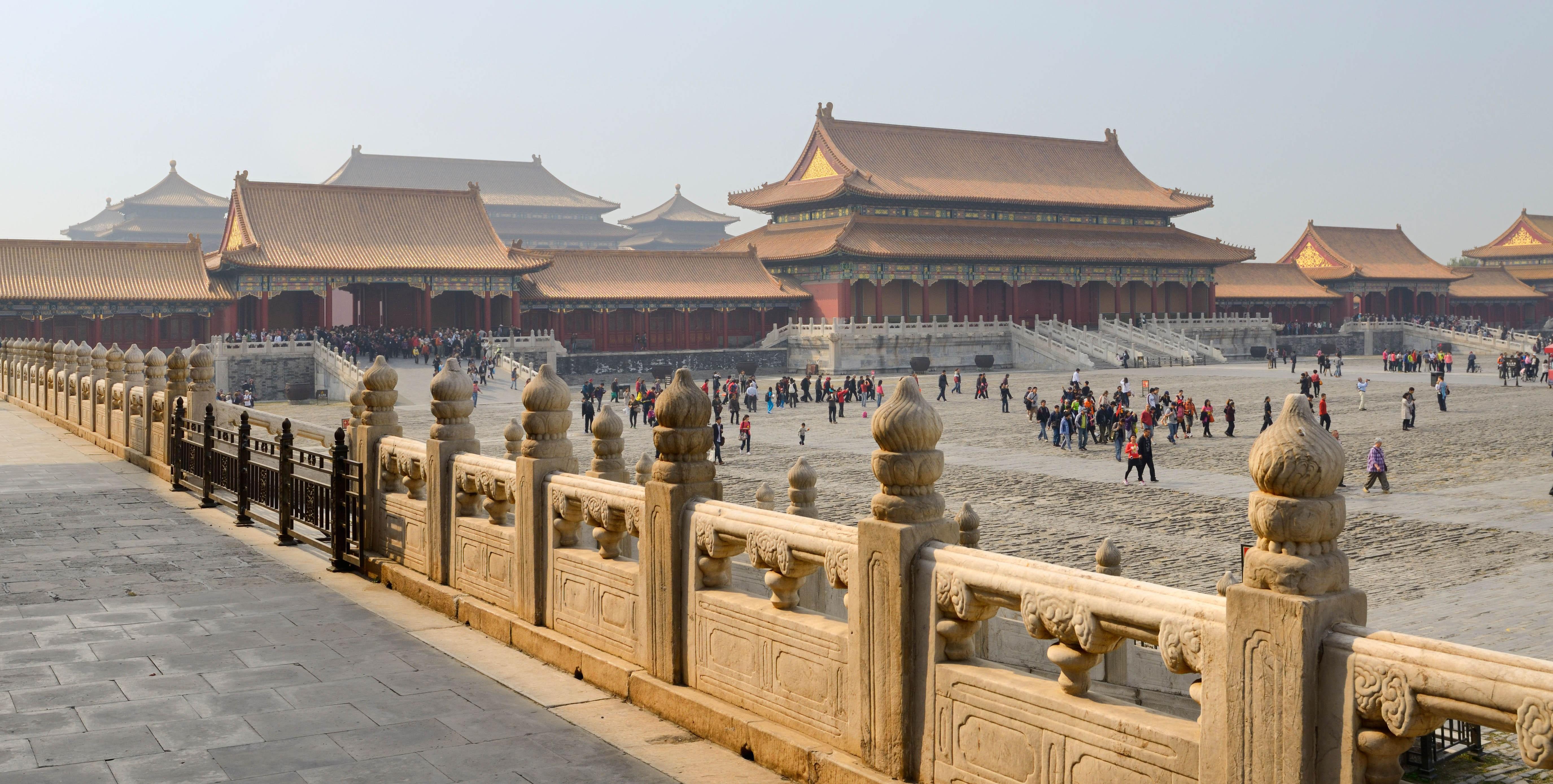 The Forbidden City is one of Beijing's most popular attractions