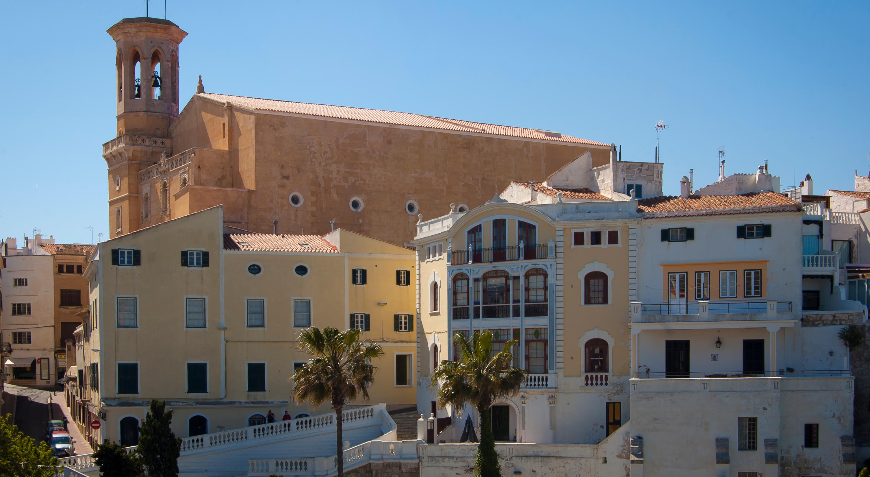Mahón is the capital city of Menorca