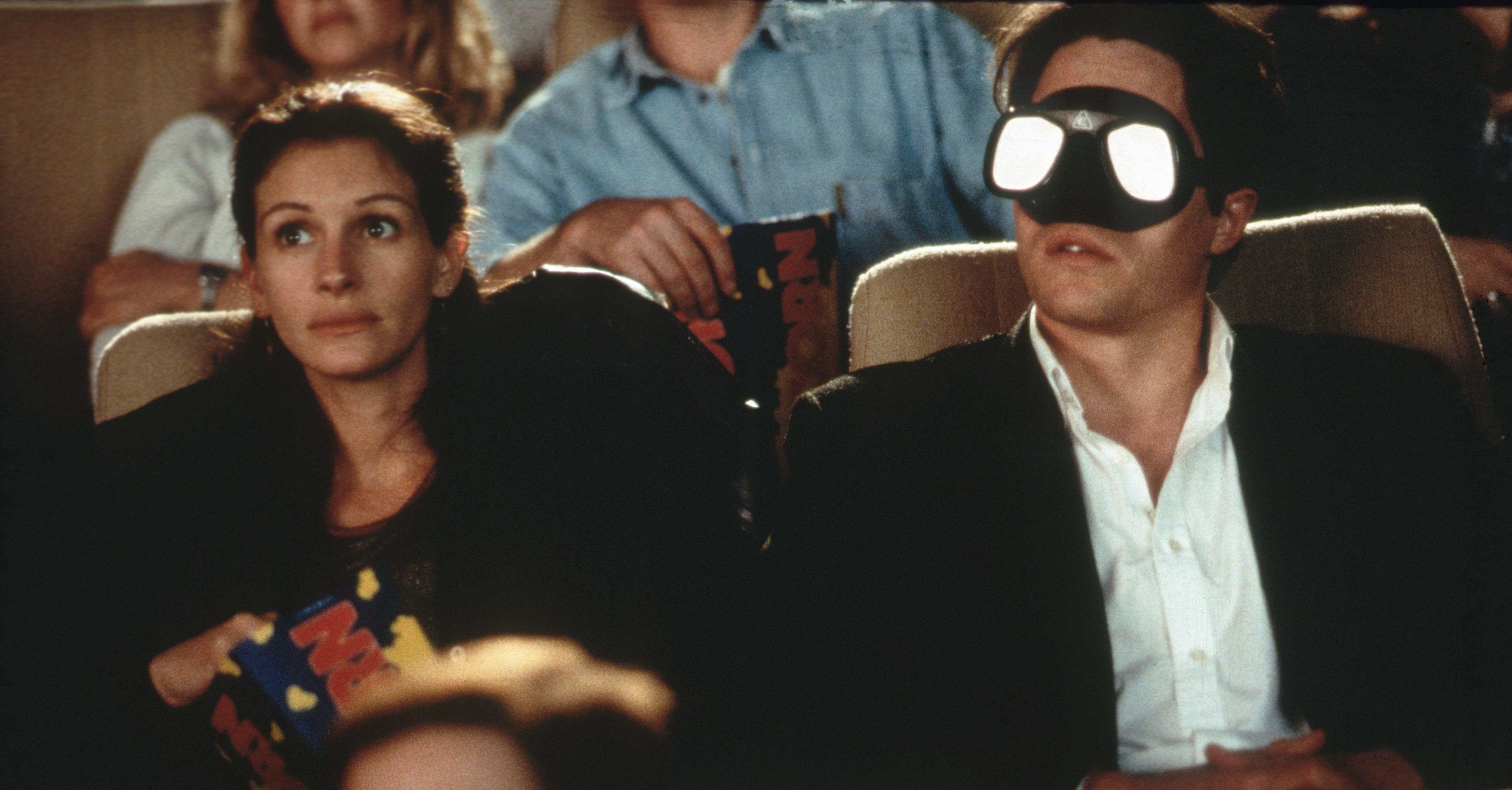 Julia Roberts and Hugh Grant star in 'Notting Hill' (1999)