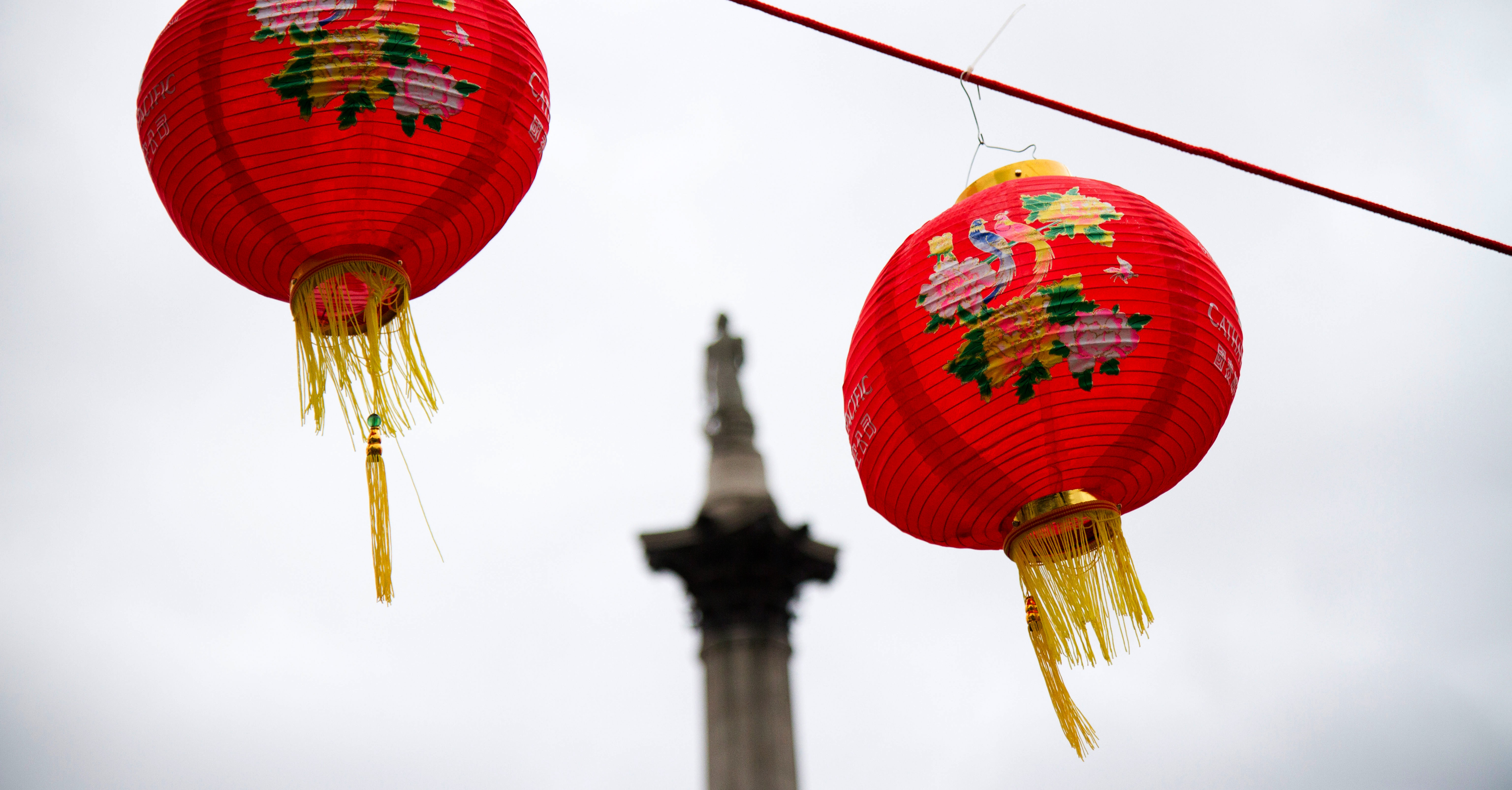 London's Chinese New Year celebration is among the biggest outside Asia