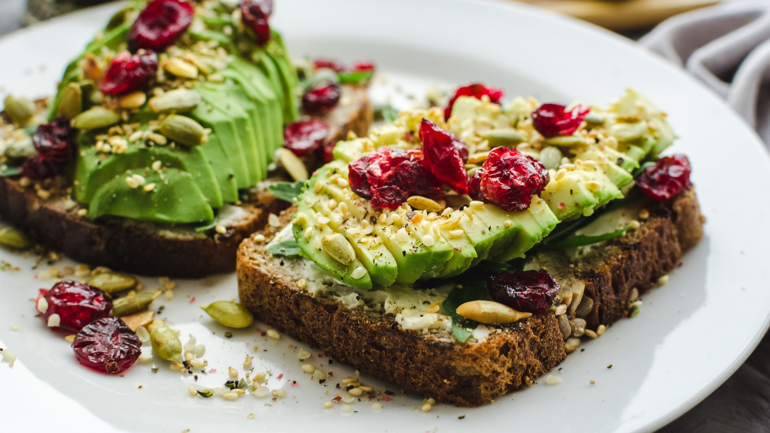 Avocado toast is a brunch staple