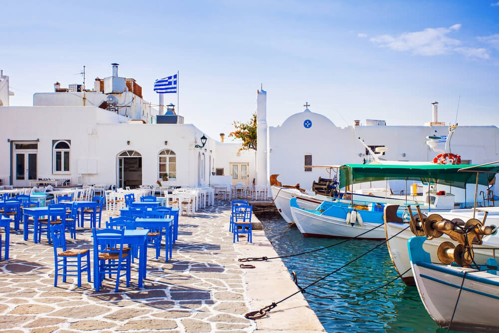 Paros - Places to stay