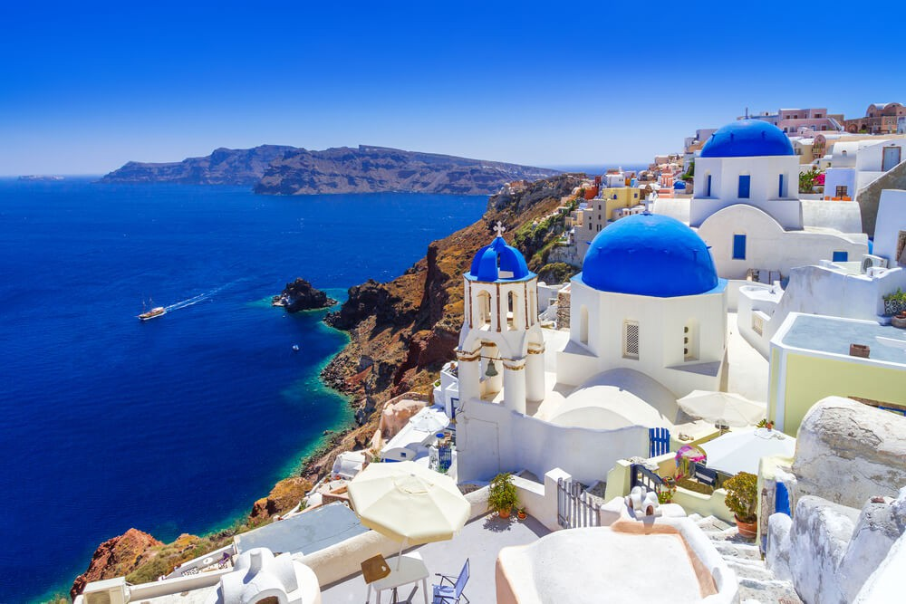 Santorini Island - Places to stay