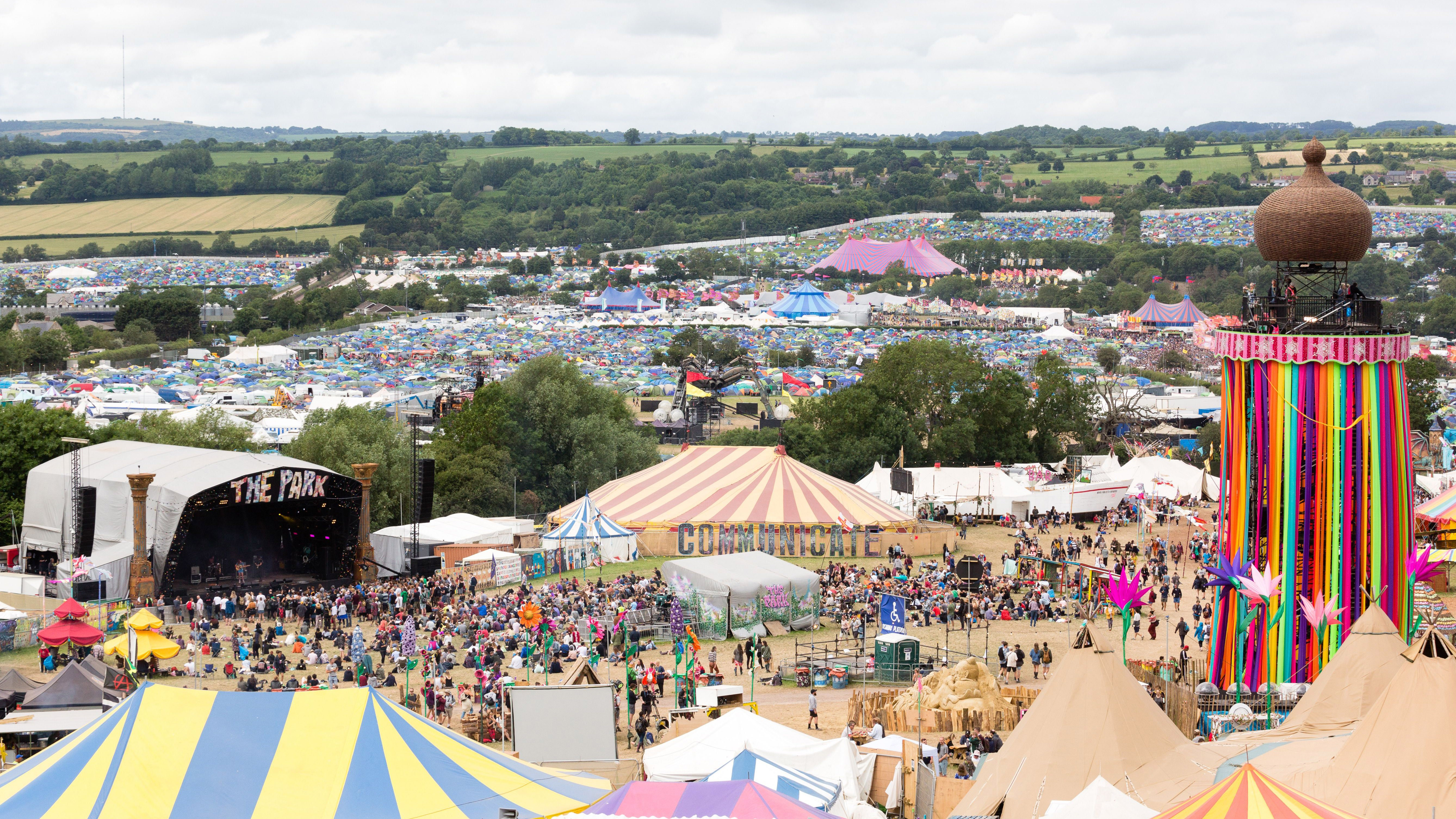 Glastonbury Festival is the UK's biggest music event
