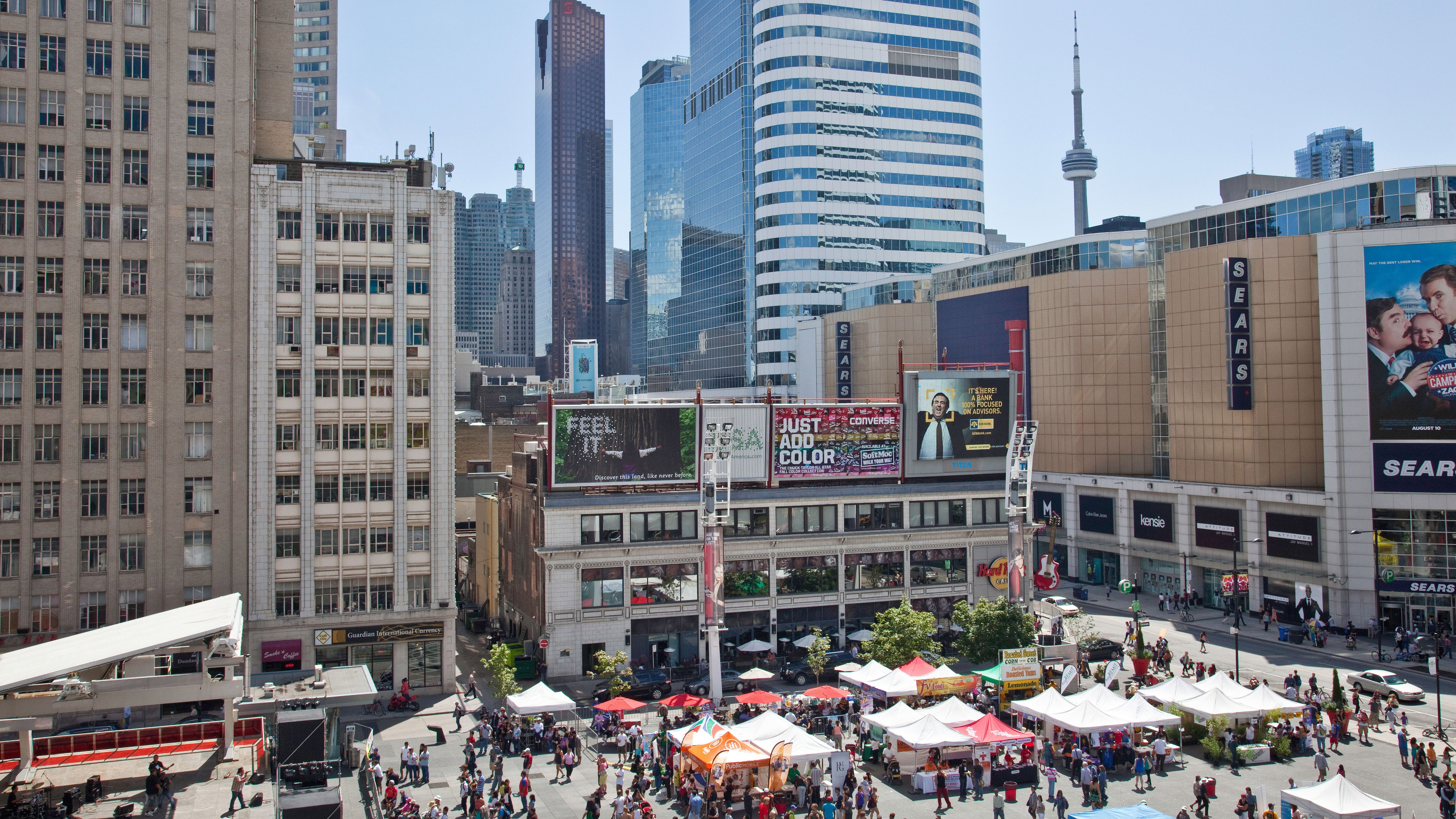 There's plenty to explore right in downtown Toronto