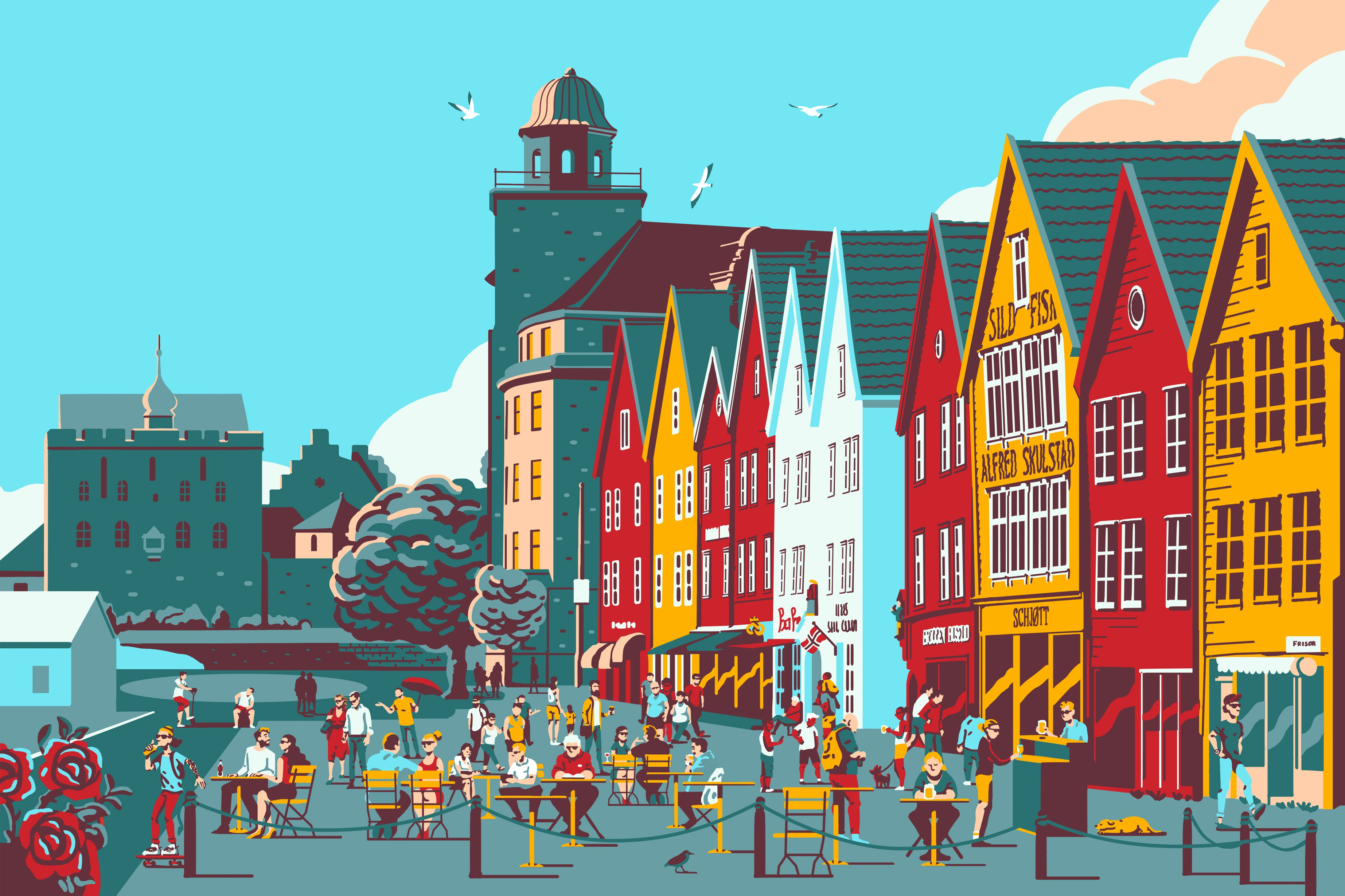 Bergen - Places to stay