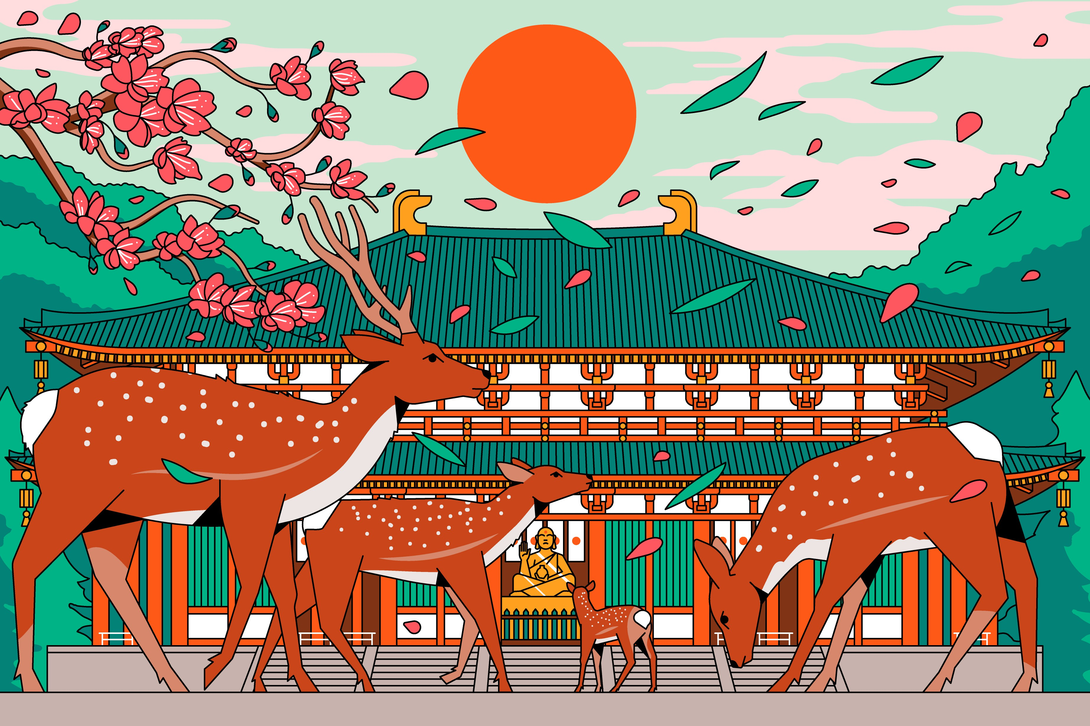 Nara-shi - Architecture